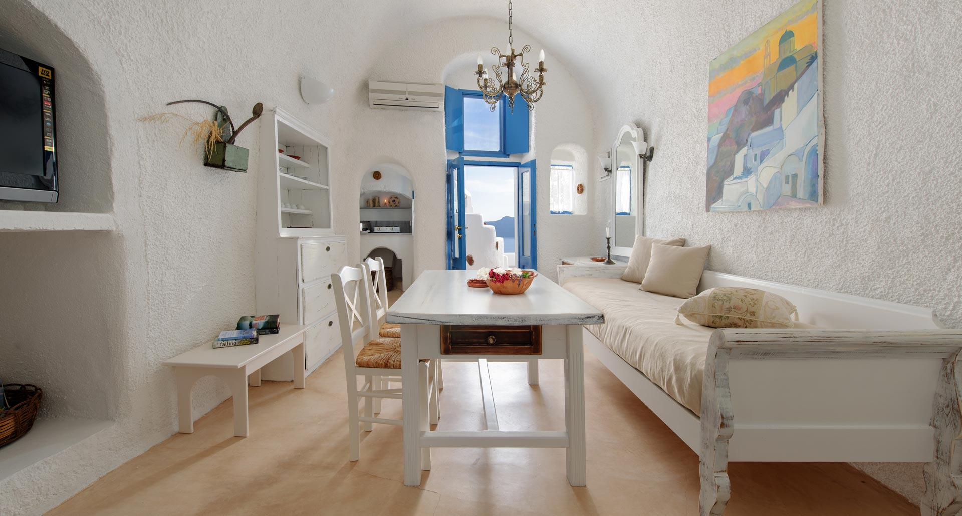 Strogili Apartment Studios in Santorini
