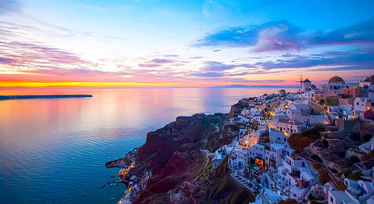 Oia Santorini Greece - Oia Sunset Oia Village Greece | Strogili Santorini  Blog