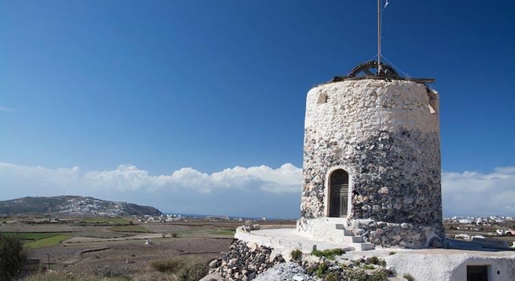 Santorini Villages Megalochori Emporio Perissa Akrotiri